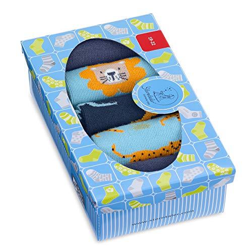 Sterntaler Baby-Jungen Söckchen 5er-Pack Socken, Blau, 19-22