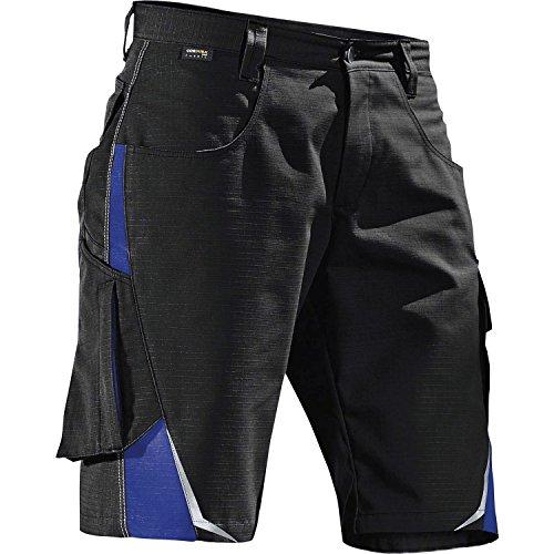 KÜBLER Workwear KÜBLER Pulsschlag Arbeitsshorts schwarz, Größe 54, Herren-Arbeitsshorts aus Mischgewebe, leichte Arbeitsshorts
