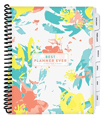 Best Planner Ever 12 Month 2021 Daily Planner – Designed by Business Coach Jennifer Dawn to Improve Daily Productivity, Organization & Happiness, for Goal Driven Performers Seeking Work Life Balance