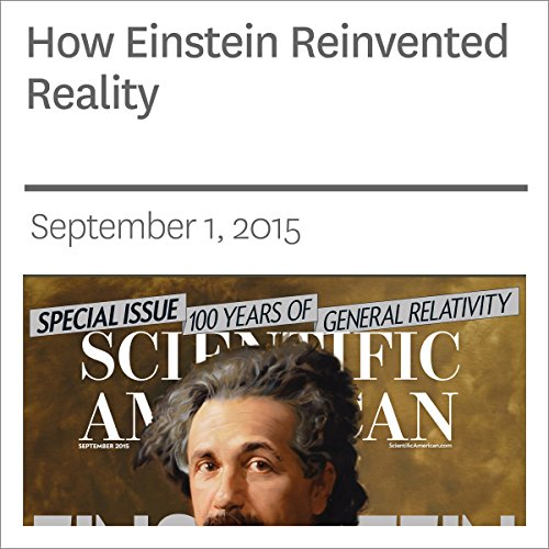 How Einstein Reinvented Reality  audiobook cover art