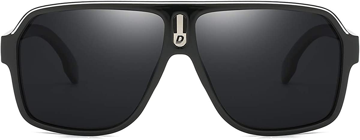 DUBERY Factory outlet Mens Shipping included Oversized Aviator Sunglasses Large Polarized Classic