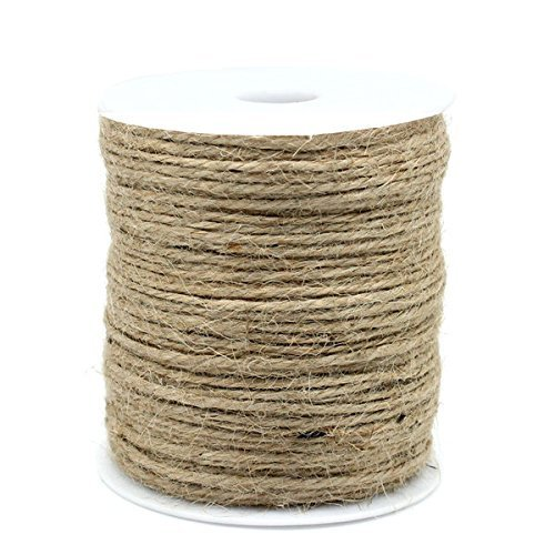 90 m jute cord brown 1-2mm by SiAura Material
