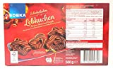 Edeka Schokoladen Lebkuchen Zartbitter (Herzen Sterne & Bretzel) 500g