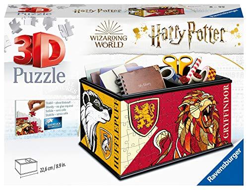 Ravensburger- Puzzle 3D 216 pièces Boite de Rangement-Harry Potter Enfant, 4005556112586
