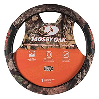 Mossy Oak 2-Grip Steering Wheel Cover, Break-Up Country Camo, Universal Fit
