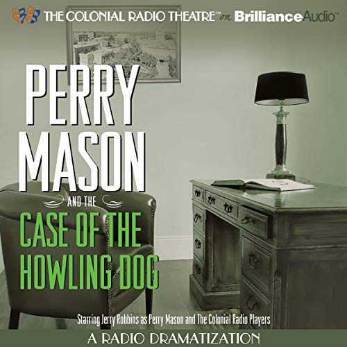 Perry Mason and the Case of the Howling Dog  By  cover art