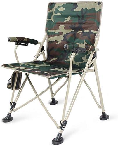 ZXL Chaises de Camping avec Porte-gobelets, Chaise de pêche Pliante, Fauteuil