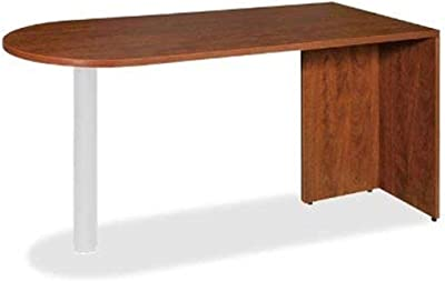 Lorell Peninsula, 66 by 30 by 29-1/2-Inch, Cherry