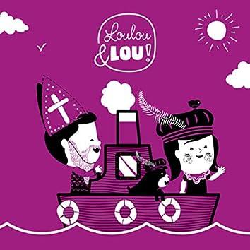 Sinterklaasliedjes Loulou & Lou