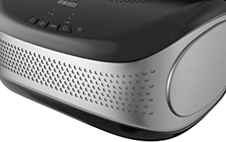 HoMedics TotalClean Desktop Air Purifier - HEPA-Type 3 Speed Home Filtration System with Optional Ionizer, Carbon Dioxide Filter, Aroma Slot