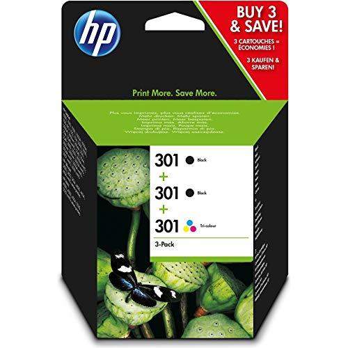 Set Ink cartridge Original HP (2x Black,1 x ) 3 units E5Y87EE / Nr 301 for HP DeskJet Ink Advantage 2545