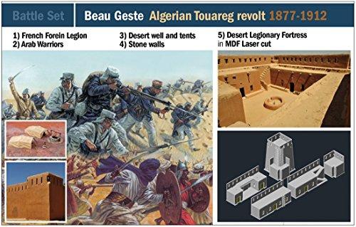 ITALERI 6183S - 1:72 Beau Geste: Jordian Tuareg revolt, modelbouw, bouwpakket, staande modelbouw, knutselen, hobby, lijmen, plastic kit, detailgetrouw