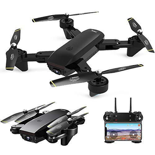 GoolRC Drone with Camera SG700-D FPV RC 4K HD Wide Angle Optical Flow Positioning Follow Me Altitude Hold Quadcopter