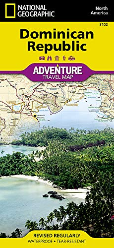 Dominican Republic (National Geographic Adventure Map (3102))