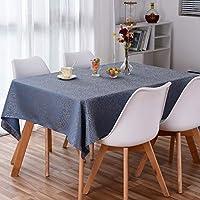 長方形のテーブルクロス北欧ソリッドカラーテーブルクロスモダンミニマリストテーブルカバー野生のテクスチャ印刷コーヒーテーブルクロスホームデコレーションテーブルクロス,1#-137x200cm
