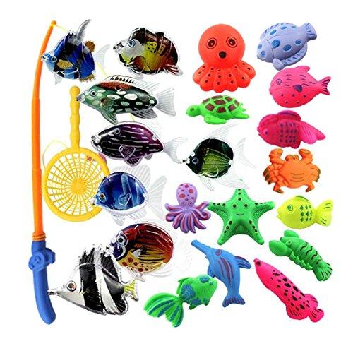 23 Pièces jouets de pêche pour les enfants/beaux joujoux de poissons, NO.8
