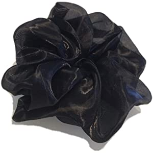 Details about  /Women Scrunchies Oversize Hair Ties Large Intestine Hair Rope Ponytail Accessory