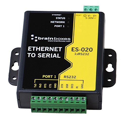 Brainboxes Device Server - 10MB LAN, 100MB LAN, RS-232 (ES-020)