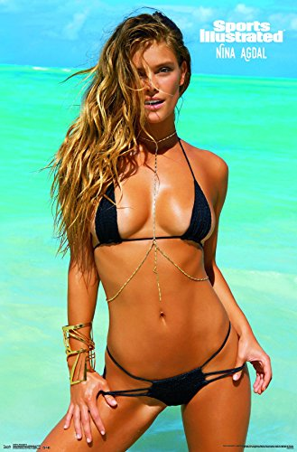 "Trends International Sports Illustrated Nina Agdal Wall Poster 22.375"" x 34"""