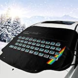 Sinclair ZX Spectrum Gaming Console Car Windshield Snow Cover,Ice Remode Sun Shade,Apto para automóviles universales,147x118cm