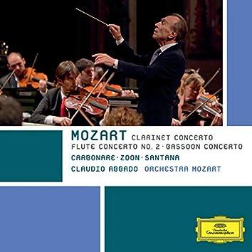Mozart: Clarinet Concerto; Flute Concerto No. 2; Bassoon Concerto