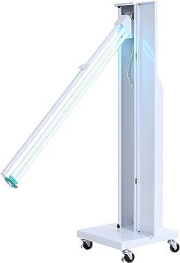 LTINN Esterilizador Ultravioleta, Desinfección de Habitaciones hasta 65m2 Lámpara Germicida Purificador de Aire Ozono con Man