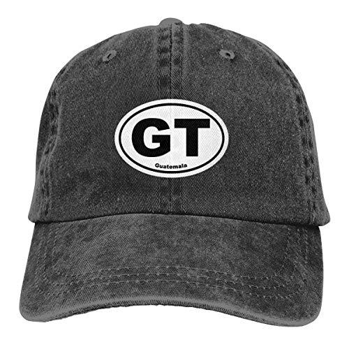 REAL PEAZ Gorra de béisbol de algodón lavado, color sólido ajustable, gorra de béisbol ajustable Guatemala...