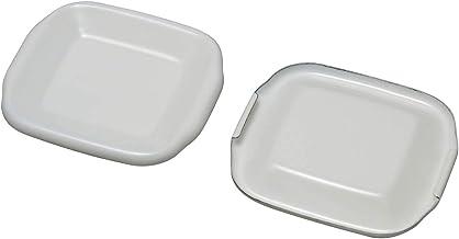 野田琺瑯(Nodahoro) スクウェアS 用琺瑯蓋(単品) 白 S用 ホワイトシリーズ HFS-S