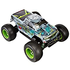 Durable savage design with TVP (twin vertical plate) chassis; factory-assembled ready-to-run Monster truck body features Vaughn Gittin Jr's custom 'geometric' livery and unique style Flux mmh-4000kv Brushless motor; Flux EMH-3S ESC; full-time 4WD sha...