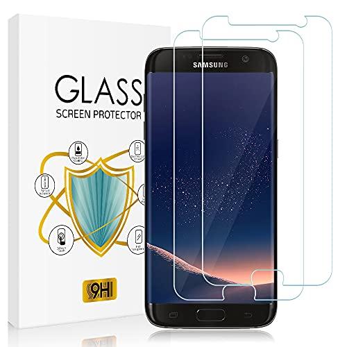 Zinking Panzerglas Schutzfolie Kompatibel mit Samsung Galaxy S7 [2 Stück], 9H Härte, Ultra-Klar, Anti-Bläschen, Hohe Transparenz Panzerglasfolie, Displayschutzfolie für Samsung S7