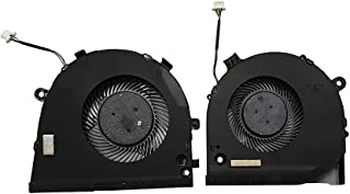 Eclass New CPU & GPU Cooling Fan for Dell Inspiron Gaming G3 3779 3579 G5 5587 G3-3579 G3-3779 G5 15 5587 TJHF2 GWMFV