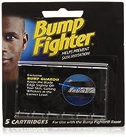 Bump Fighter リフィルカートリッジブレイド - 5枚のブレード(12パック)