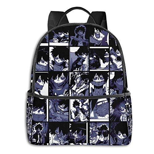 XCNGG Anime Dabi Collage Classic Student School Bag School Cycling Leisure Travel Camping Outdoor Backpack