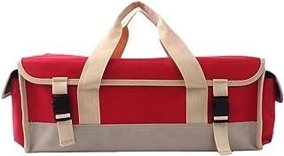YiyiLai Outdoor Camping Foldable Tent Nail Storage Bag Hammers Handbag Red