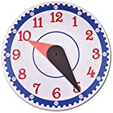 Enables kids to calculate time on tips. It is a tool that help kids to measure how time passes. Completely non- toxic and eco-friendly Single piece Size-28cm x 28cm