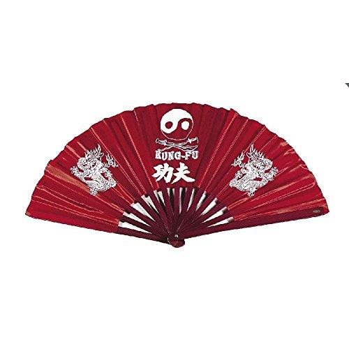Haller Asien Fächer Kung FU, rot, 30932