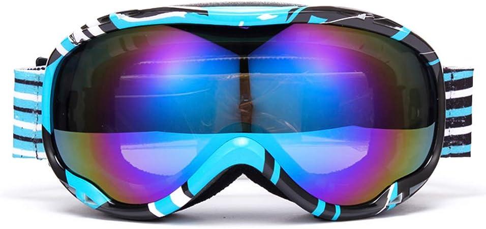 XY&CF-Ski glasses Gafas de esquí Doble antivaho Hombres y ...