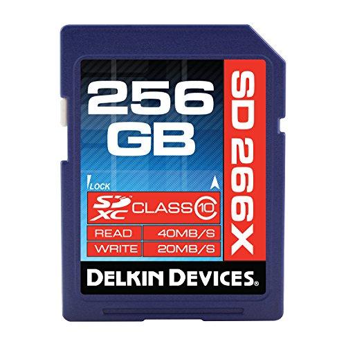 Delkin 266x 256GB SDXC UHS-I U1Tarjeta de Memoria