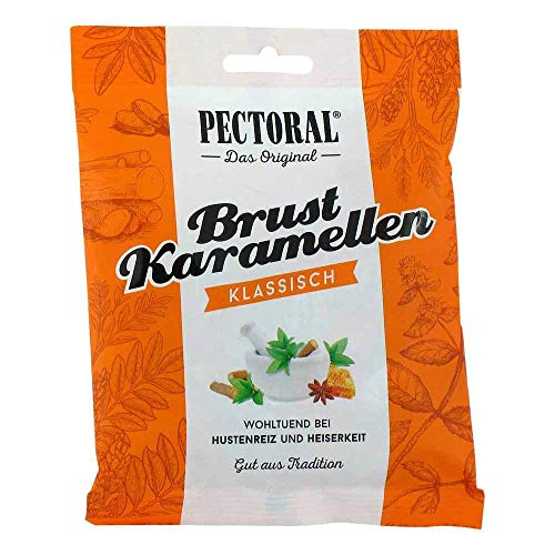 Pectoral Brust-Karamellen Beutel, 75 g