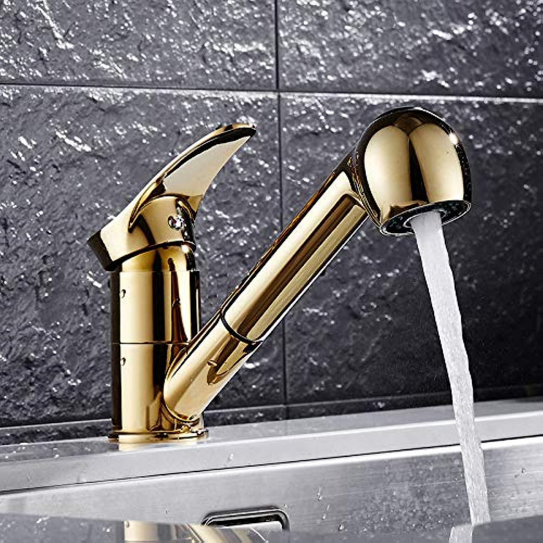 ZHAOSHOP Wasserhahn küchenarmatur waschbecken waschschüssel waschbecken wasserhahn ziehen rotierende gre wasser kalten wasserhahn