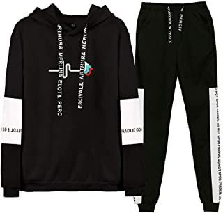 IYFBXl New Mens Round Neck Short-Sleeved t-Shirt Cotton Printed Short-Sleeved Shirt FM343