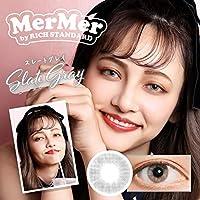 カラコン MerMer by RICH STANDARD 14.2mm 1day 10枚入り (スレートグレイ, -1.25)
