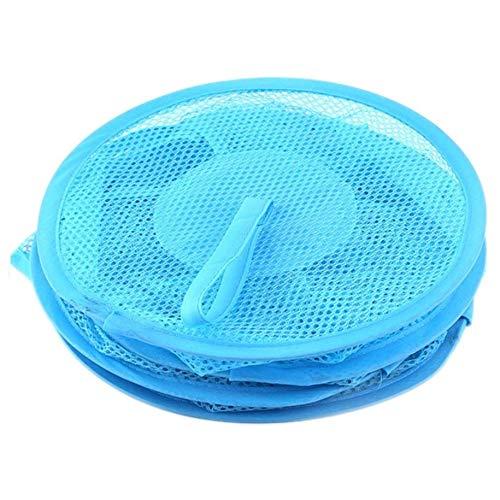 Anam Safdar Butt Dreischichtiger bunter Netzaufbewahrungsbeutel mit zylindrischer Netzform Hängender Korb Praktische Aufbewahrungsgeräte