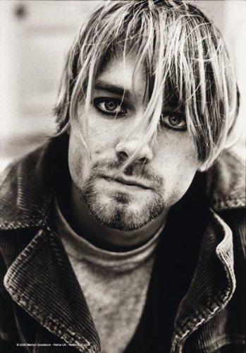 Cobain, KURT – Suicide – poster drapeau 100% polyester – Taille 75 x 110 cm