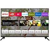 chiq l32h7n hd smart tv, 32 pouces, wifi, netflix, youtube, prime video, facebook, hdr, dvb-t2/c/s2,frameless design