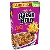 Kellogg's Raisin Bran, Breakfast Cereal, Original, Excellent Source of Fiber, 24oz