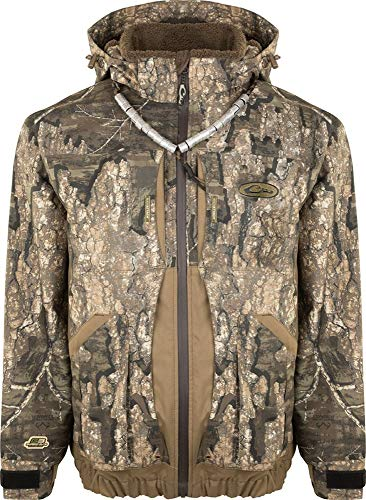 New Drake Guardian Elite Boat & Blind Jacket - Shell Weight Realtree Timber LG