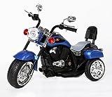 Moto Eléctrica para Niños Harley Davidson Style