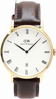 [ダニエル ウェリントン] Daniel Wellongton ダッパー ローズゴールドメッキ ホワイト文字盤 クォーツ メンズ 腕時計 B38R3