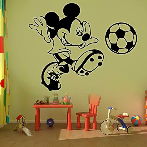 Tianpengyuanshuai fotobehang voetbal kinderkamer decoratie deuren en ramen vinyl sticker cartoon muis beweging muurschildering